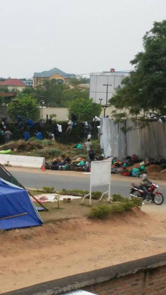 Burundi police students