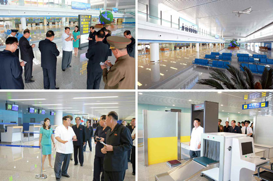 North Korea Pyongyang new airport