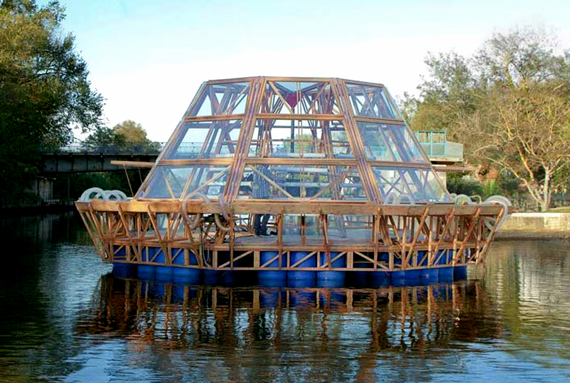 jellyfish barge sustainable farming pnat