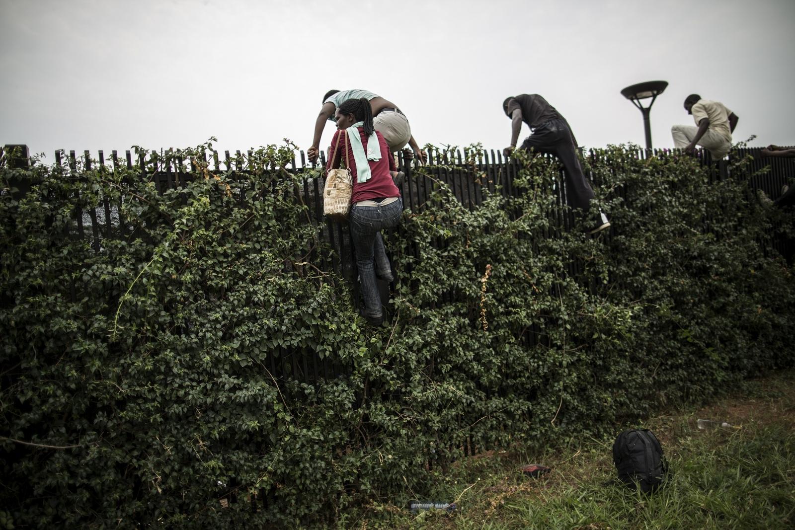 Burundi US embassy students