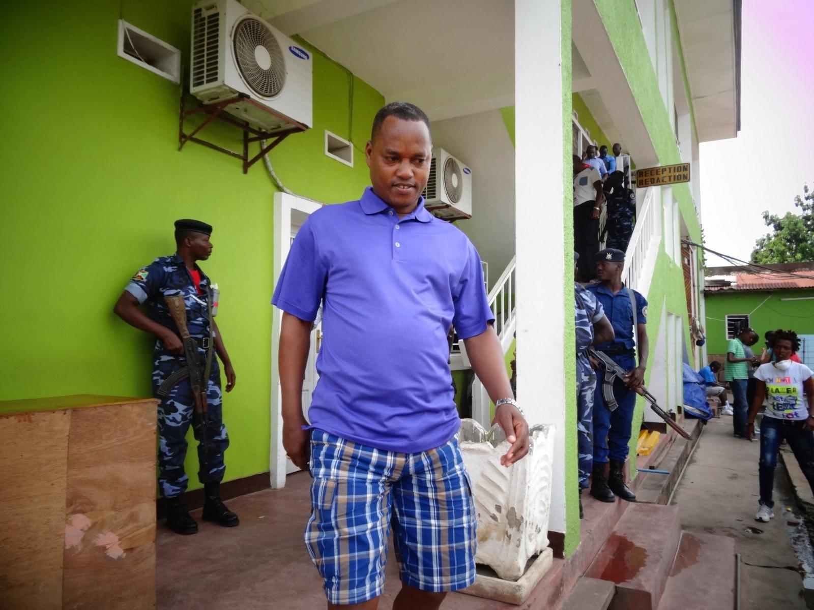Burundi Edouard Nduwimana