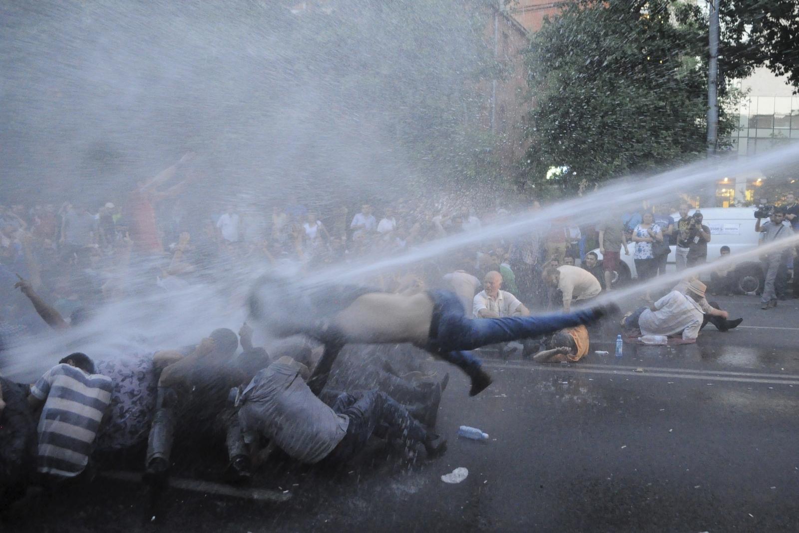 Armenia Yerevan electricity protests
