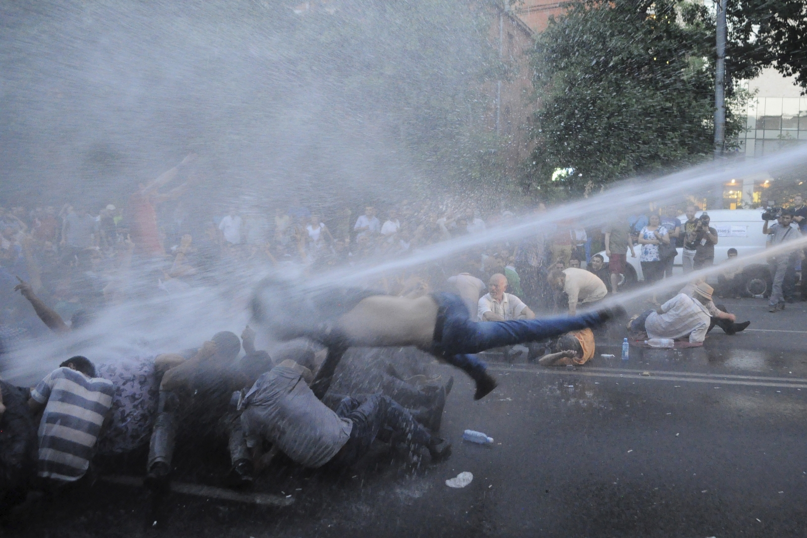 Armenia Yerevan electricity protests