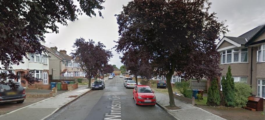 Windsor Crescent Harrow murder