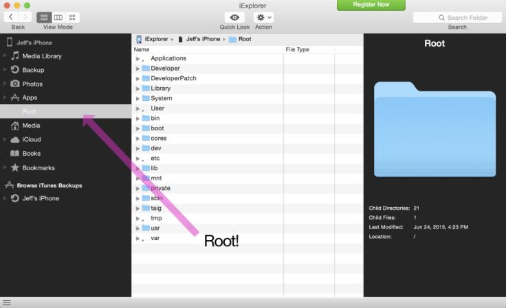 iOS 8.3 jailbreak with AFC2