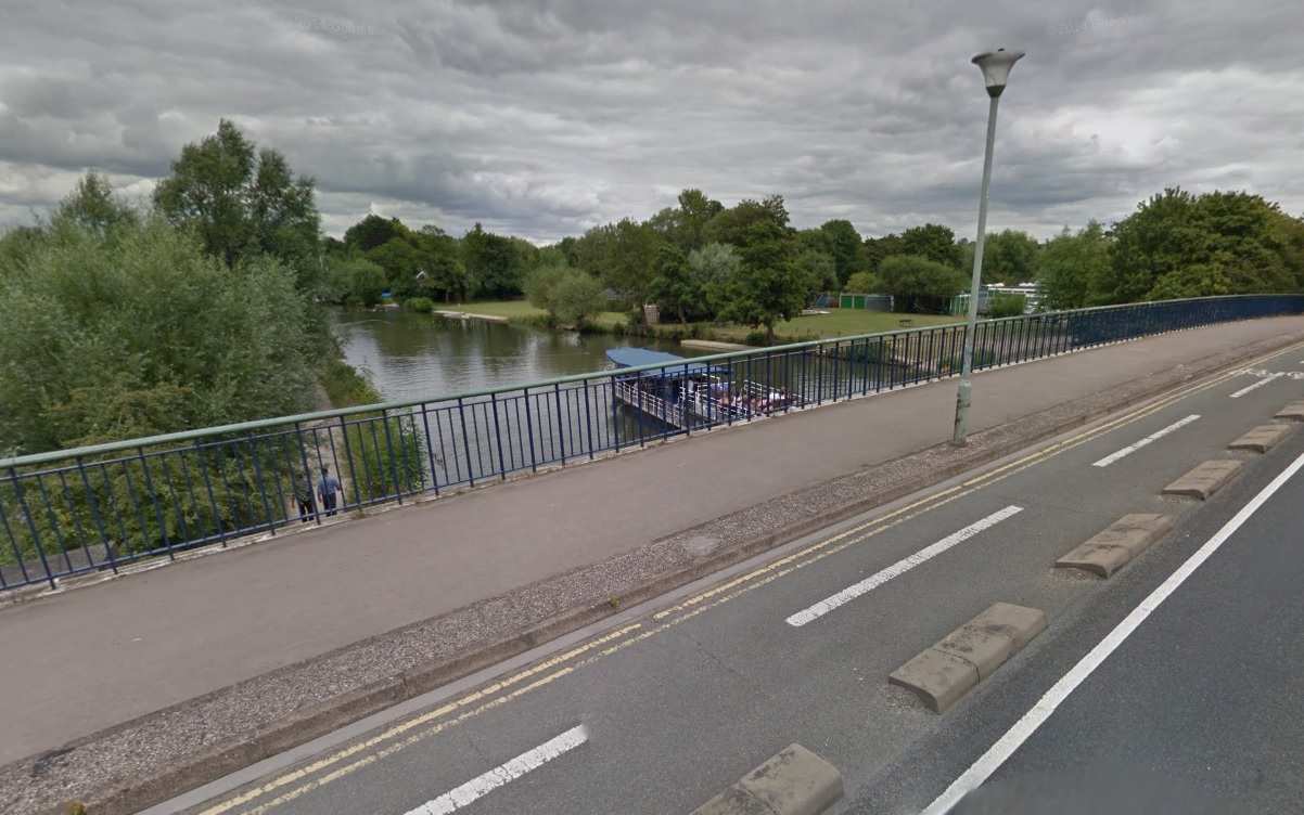 Donnington Bridge in Oxford