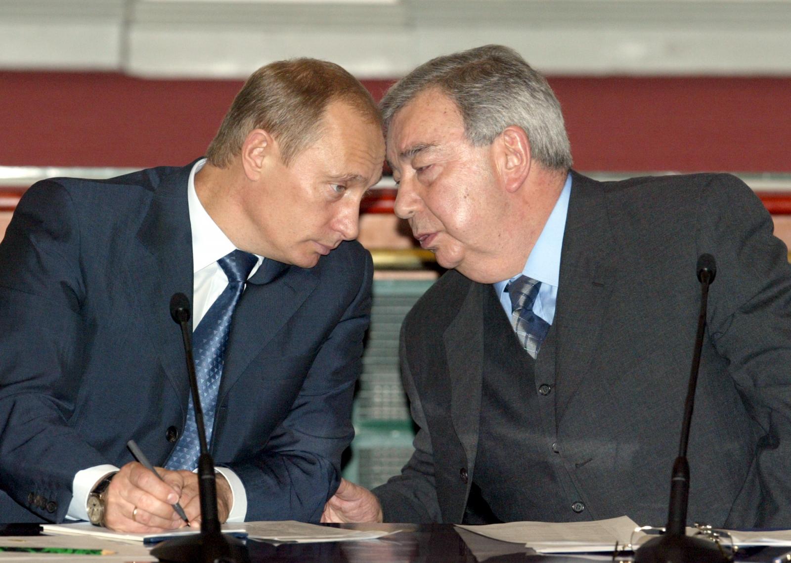Vladimir Putin Yevgeny Primakov