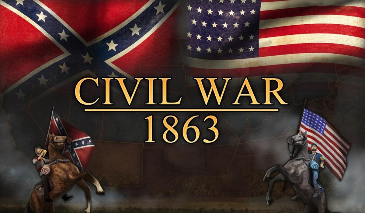 Civil War 1863 game