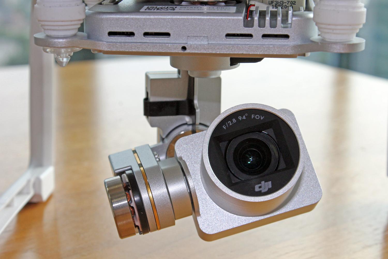 DJI Phantom 3 Professional camera and gimbal