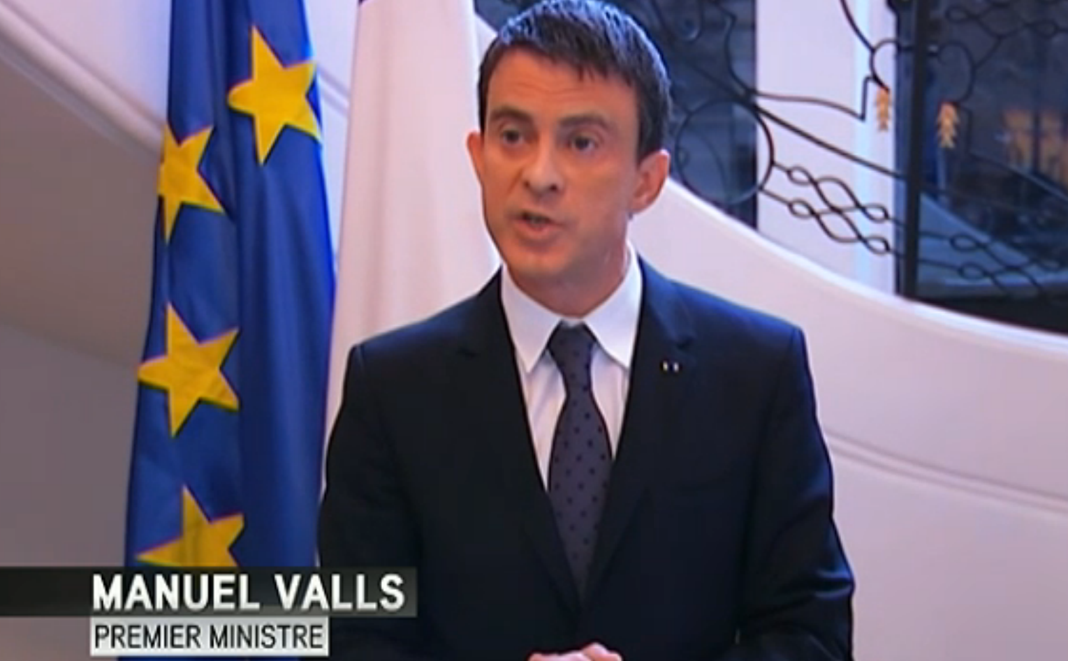 France's PM Manuel Valls