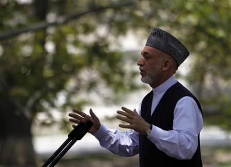"""Afghanistan""""s President Hamid Karzai"""