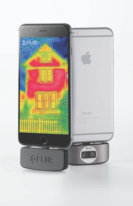 Flir One works on iPhone and Android