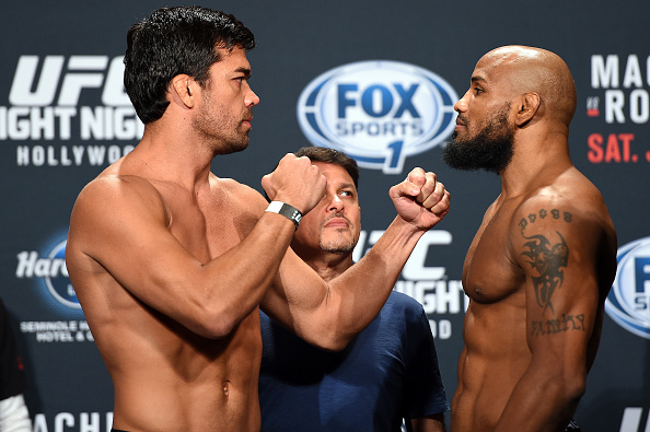 Lyoto Machida vs Yoel Romero: ...