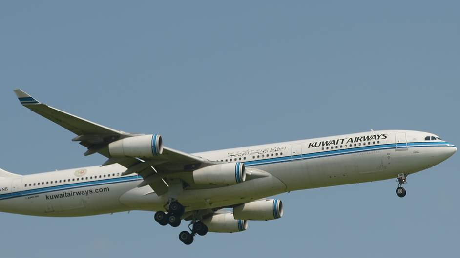 Kuwait Flight KU118