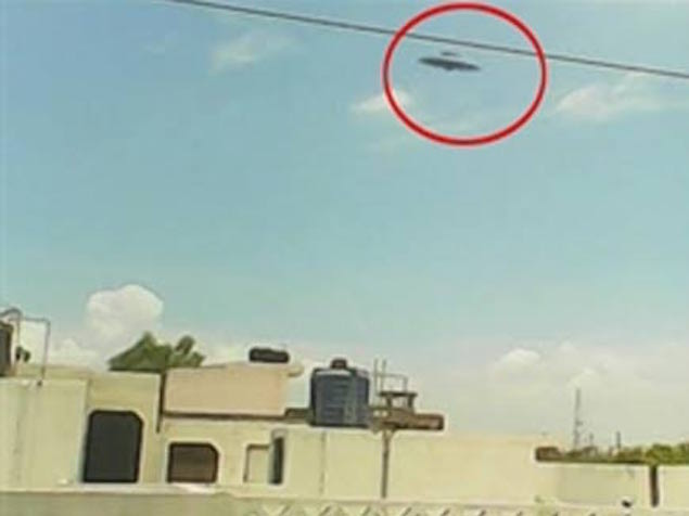 Indian boy claims of capturing UFO