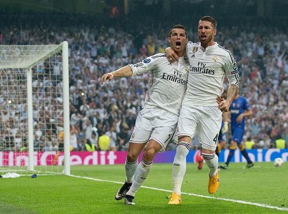 Cristiano Ronaldo-Sergio Ramos