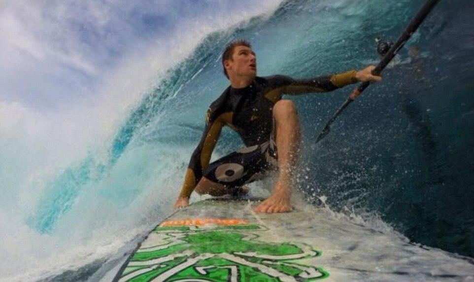 Justin Holland surfer Australia wave