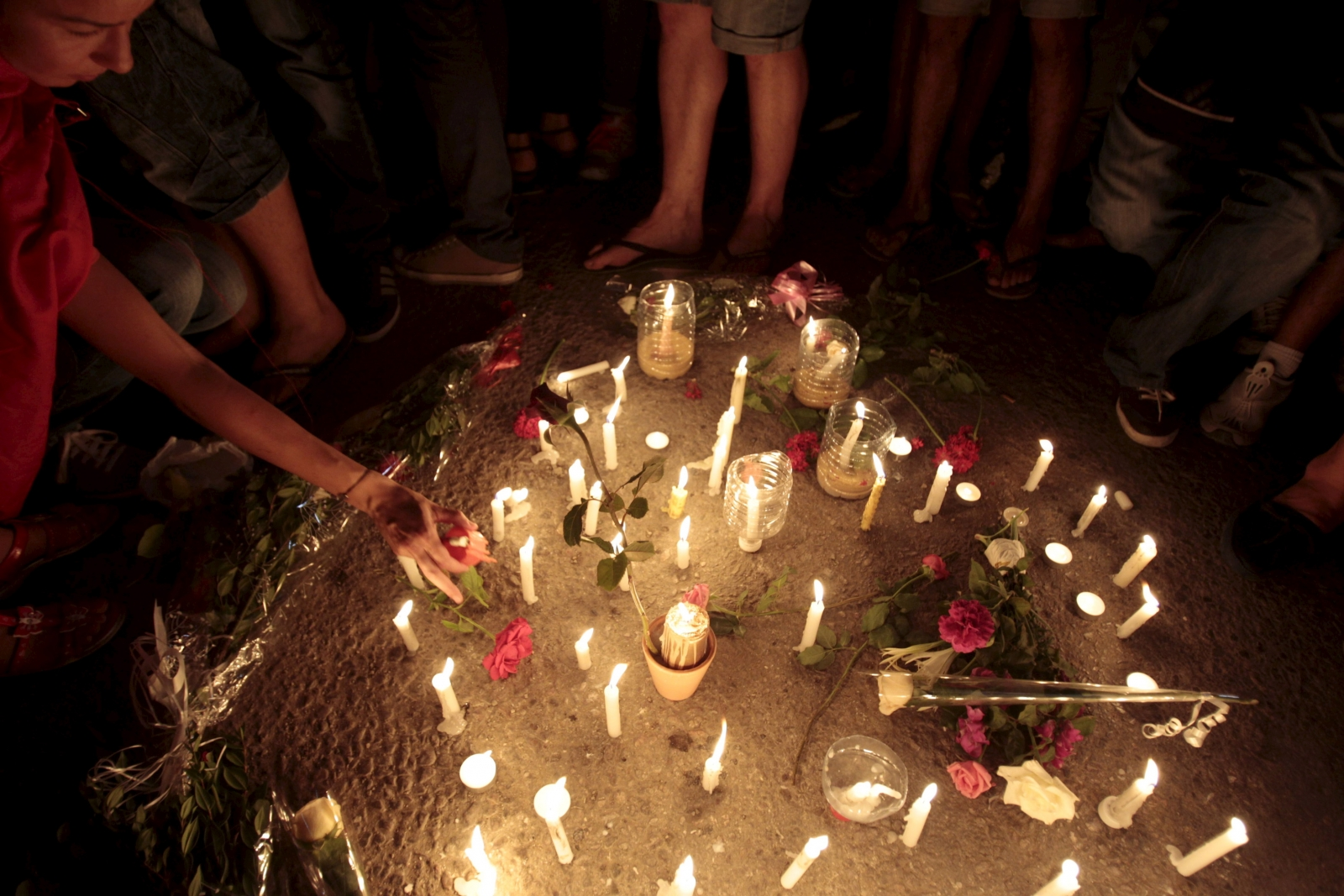 Vigil for Tunisian attack victims