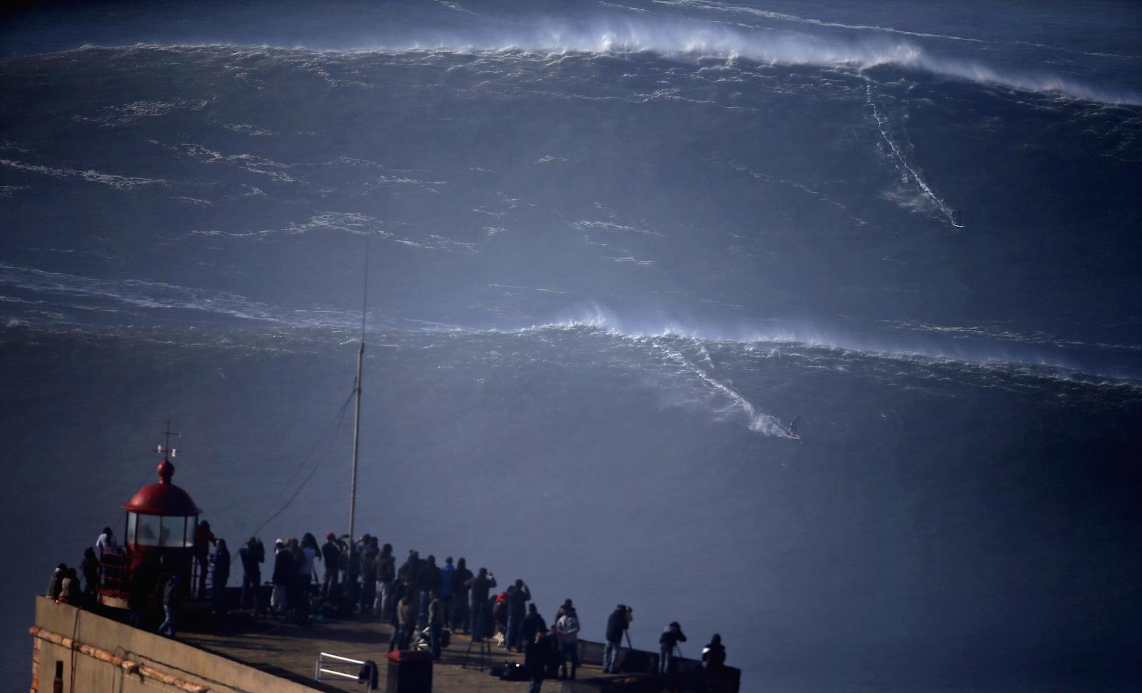 World's biggest waves