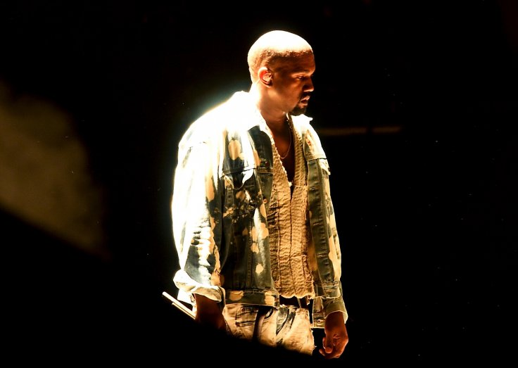 Glastonbury 2015 Kayne West performing