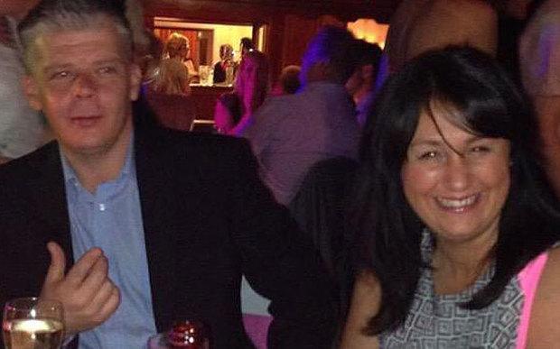 Sue Davey and Scott Chalkely