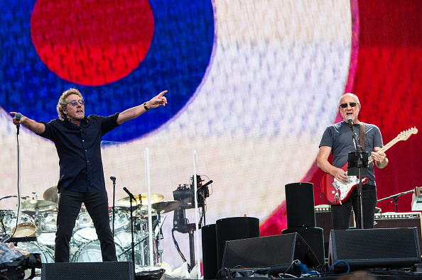 The Who at Hyde Park
