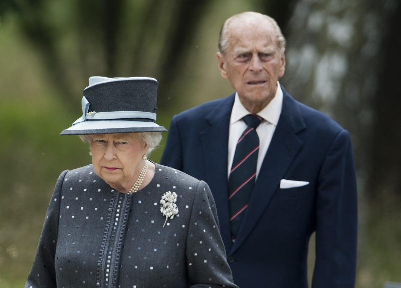 Queen Elizabeth Prince Philip Belsen camp