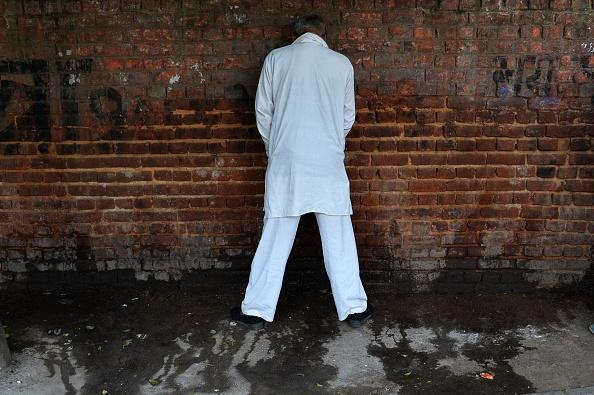 India public urination