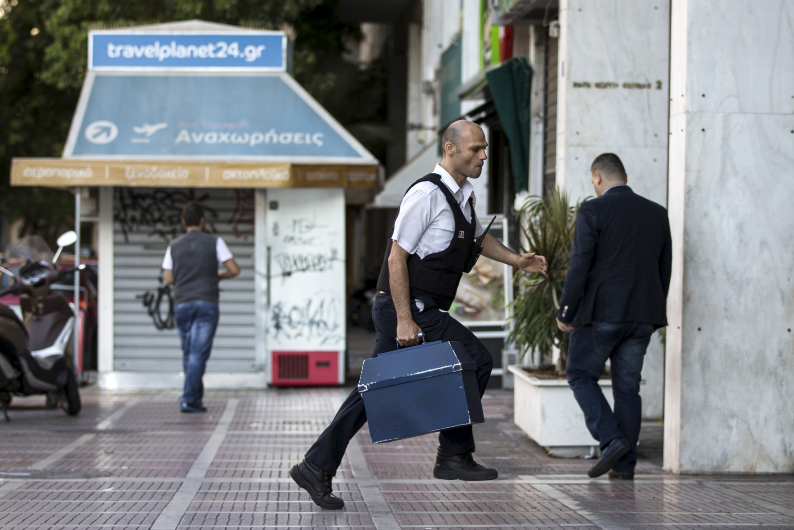 Security deposit Greece