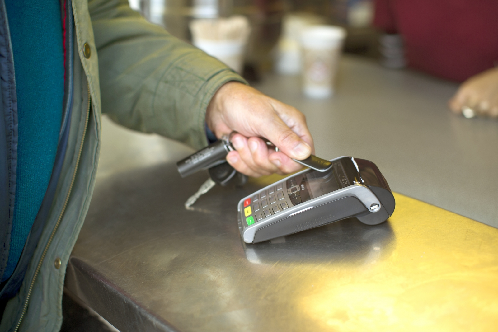 bPay contactless payment fob