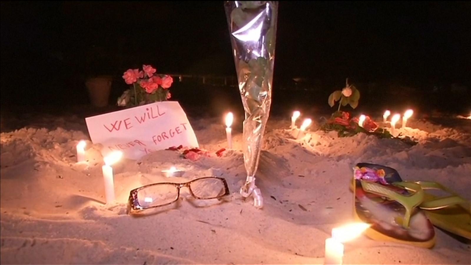 tunisia candlelit vigil