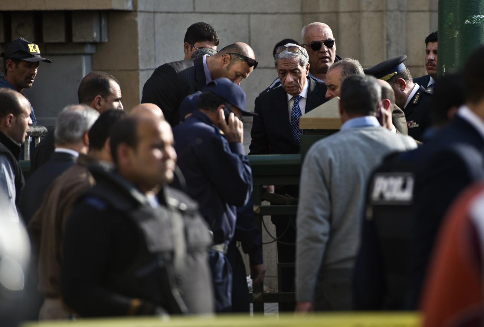 Hisham Barakat  cairo bomb