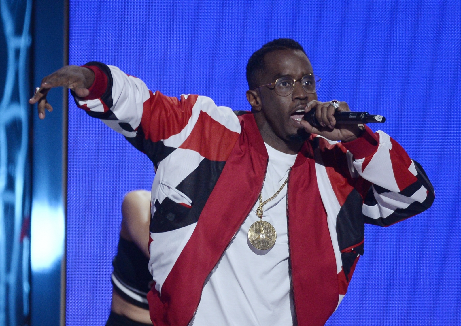 P Diddy at the BET Awards