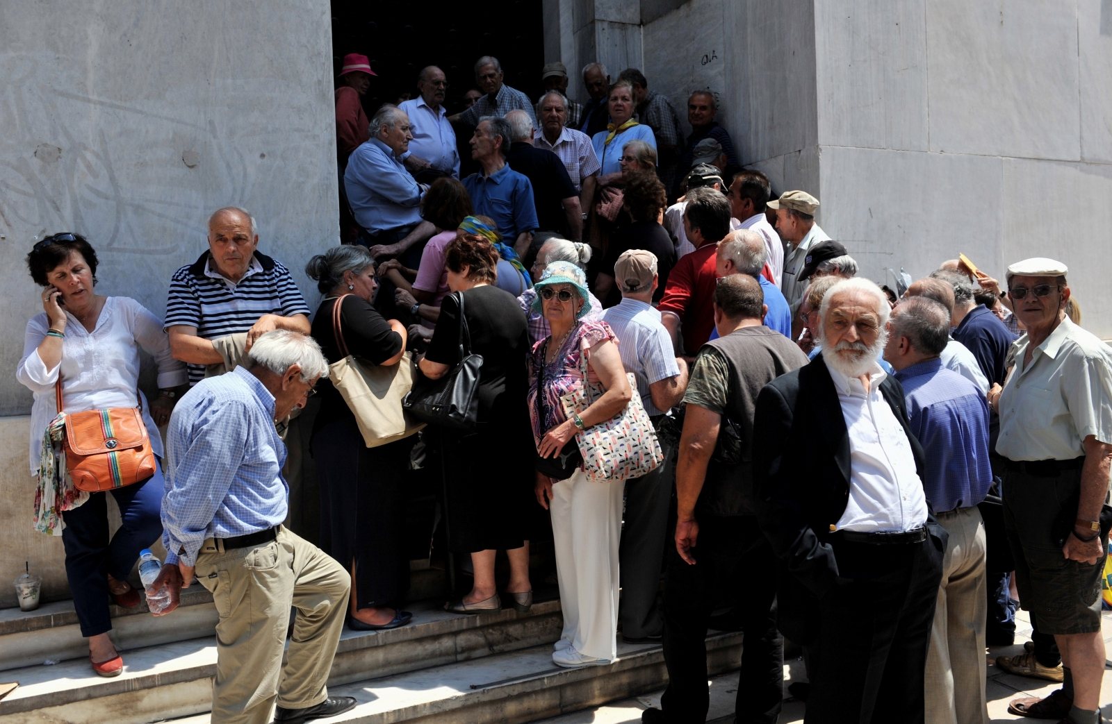 Greece crisis pensioners