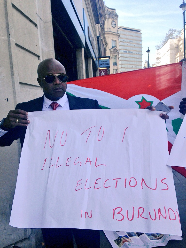 Burundi embassy London