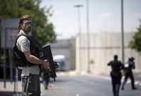 Israelis wounded on West bank