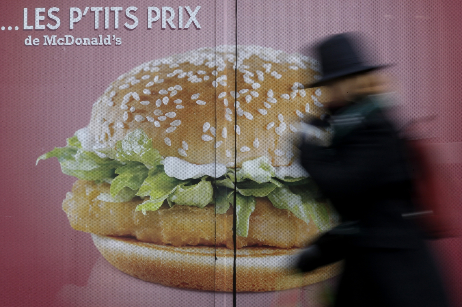 fast-food restaurant in Paris