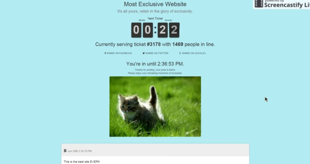 Most exclusive website revealed what