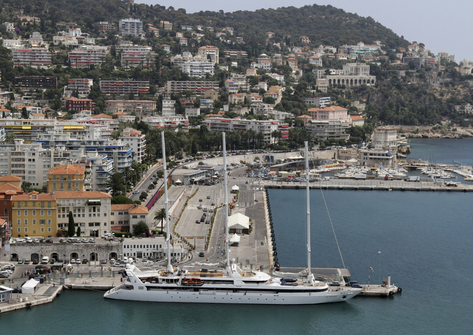 Nice yacht luxury France cote azur