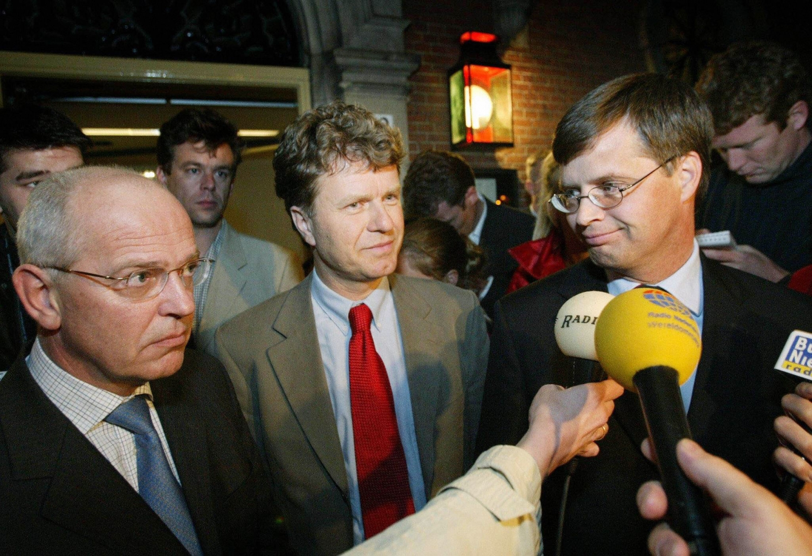Dittrich with former Dutch PM Balkenende