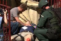 London mock terror attack