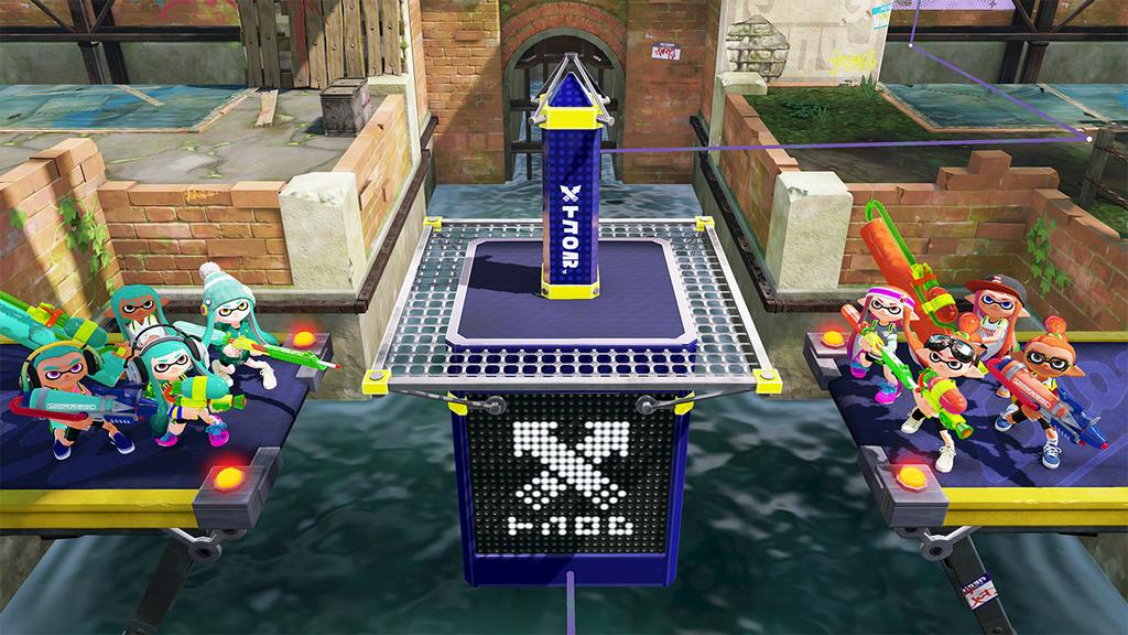 Splatoon Tower Control