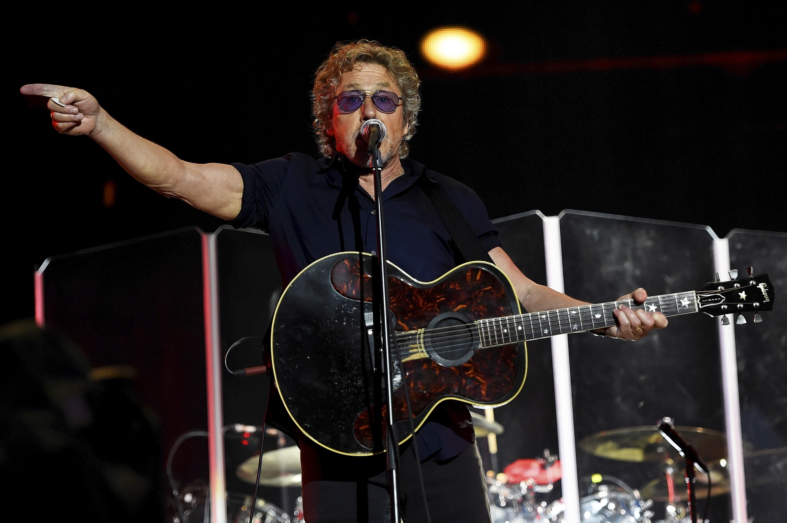 Roger Daltry Glastonbury The Who Pyramid Stage