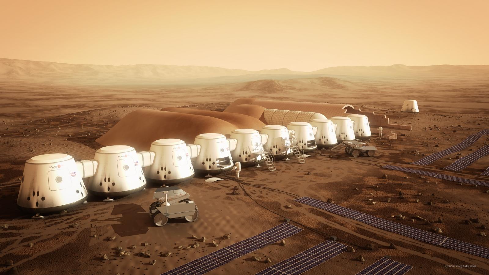 Mars one space colony nasa