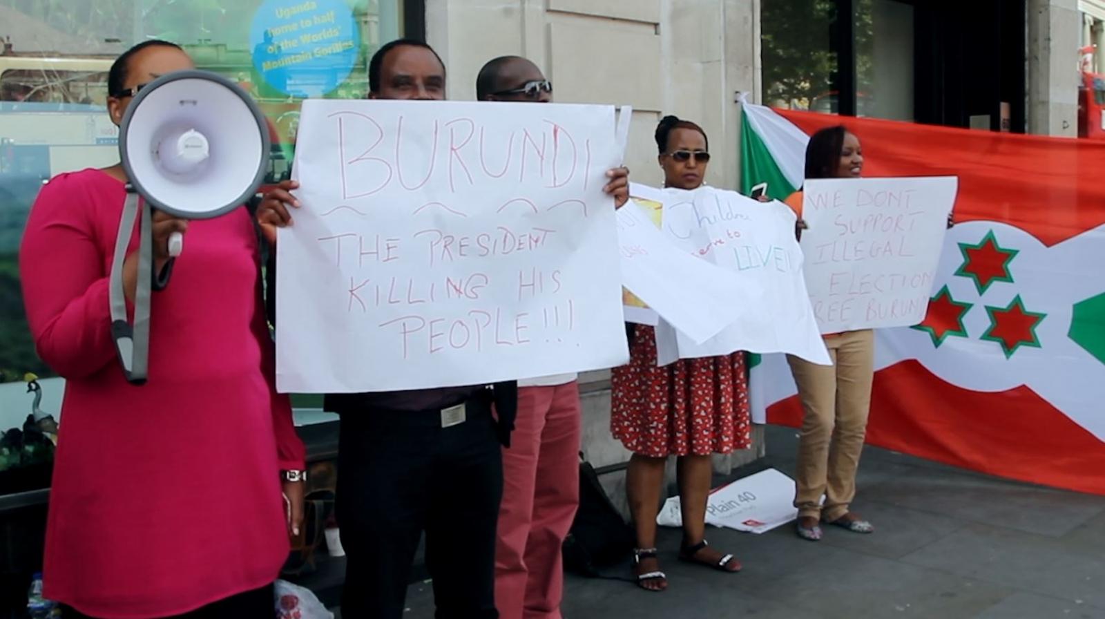Burundi Election Protest