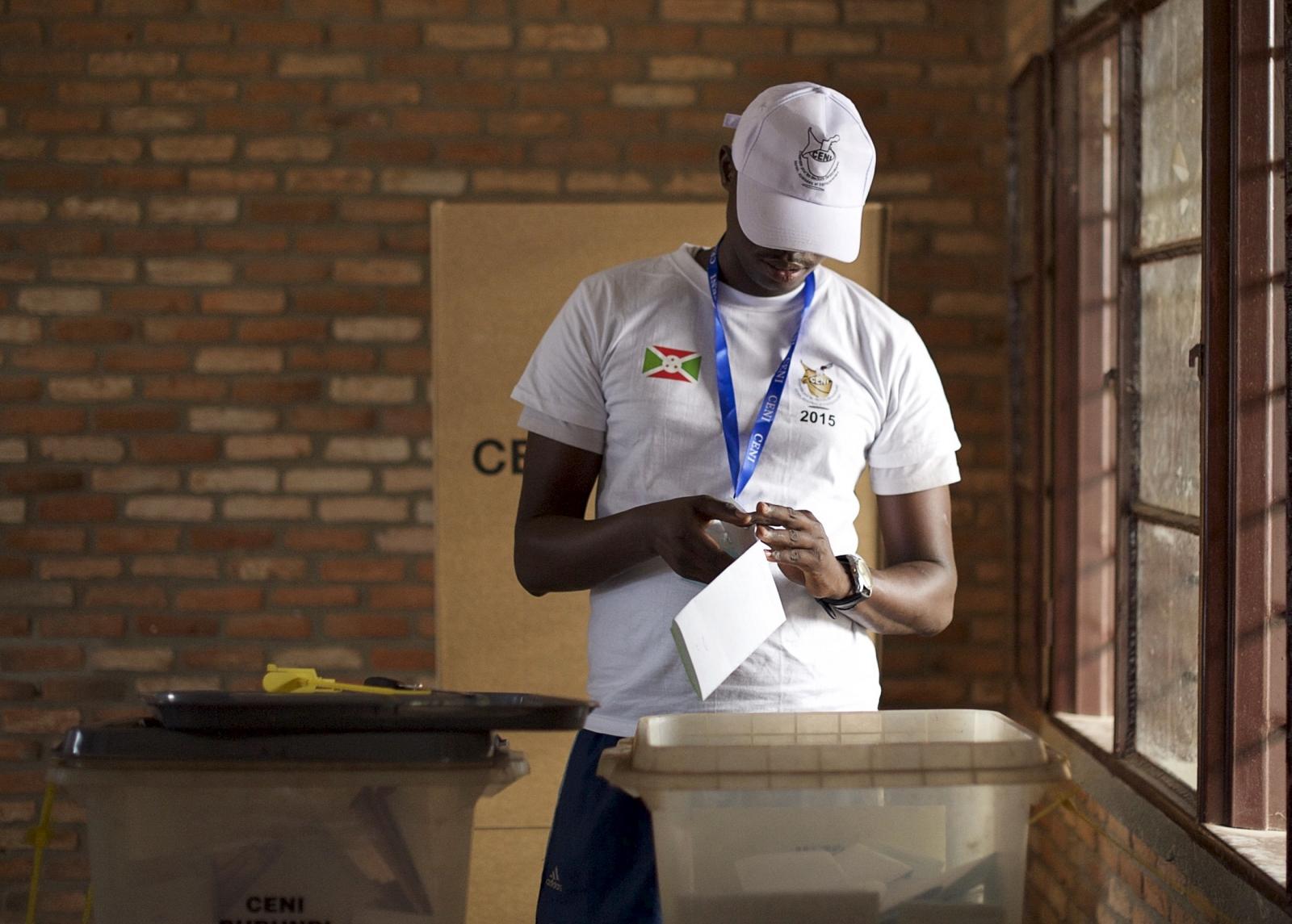Burundi elections vote