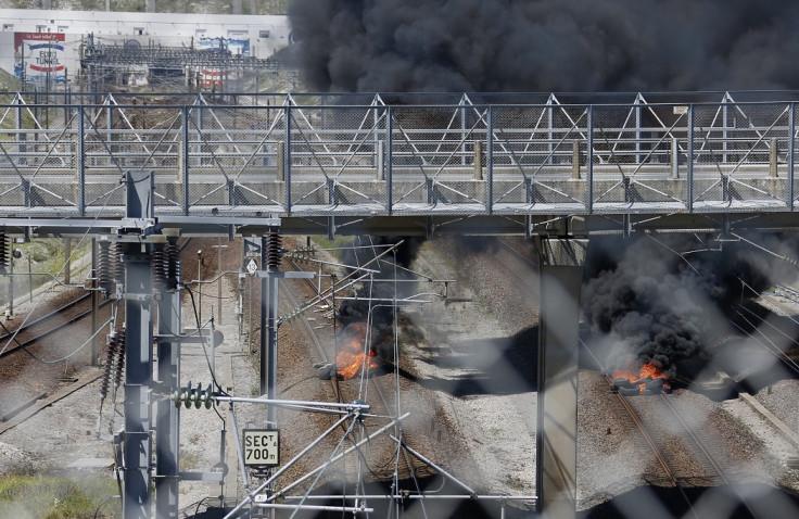 Calais Eurotunnel fire