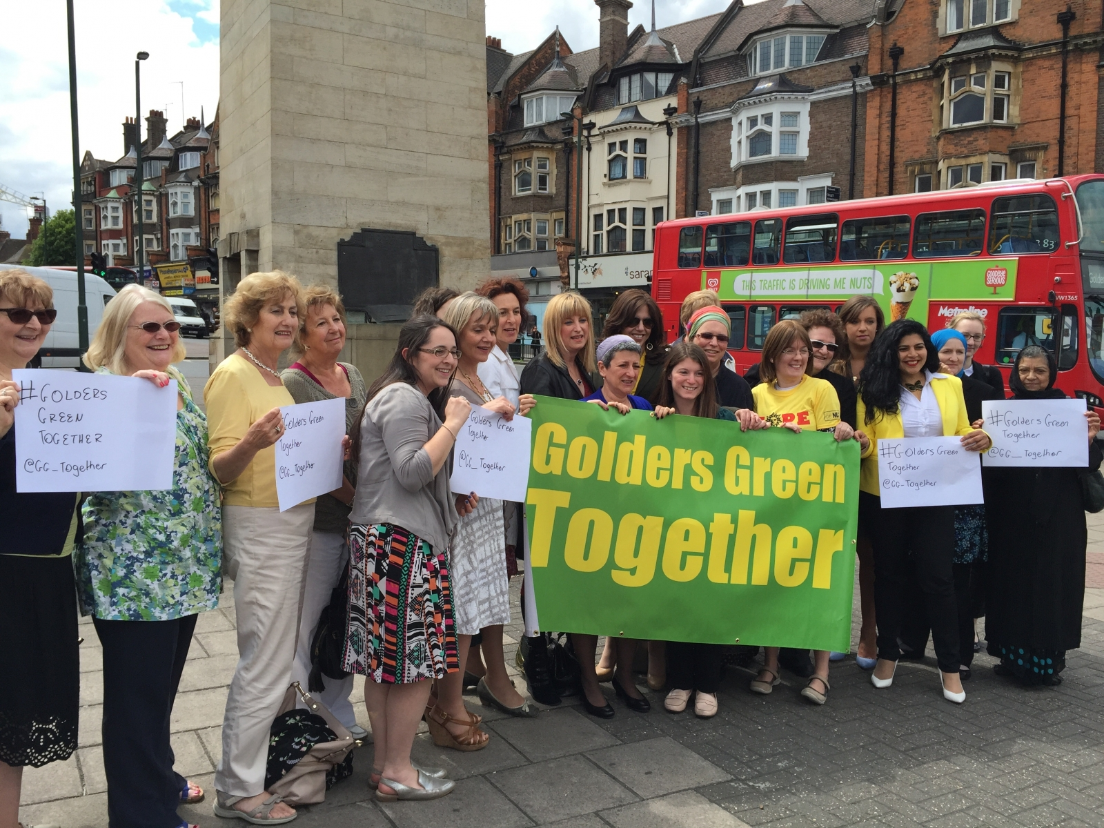 Golders Green Together against Neo-Nazis