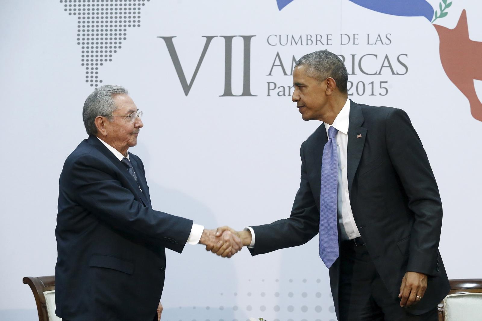Castro Obama Cuba