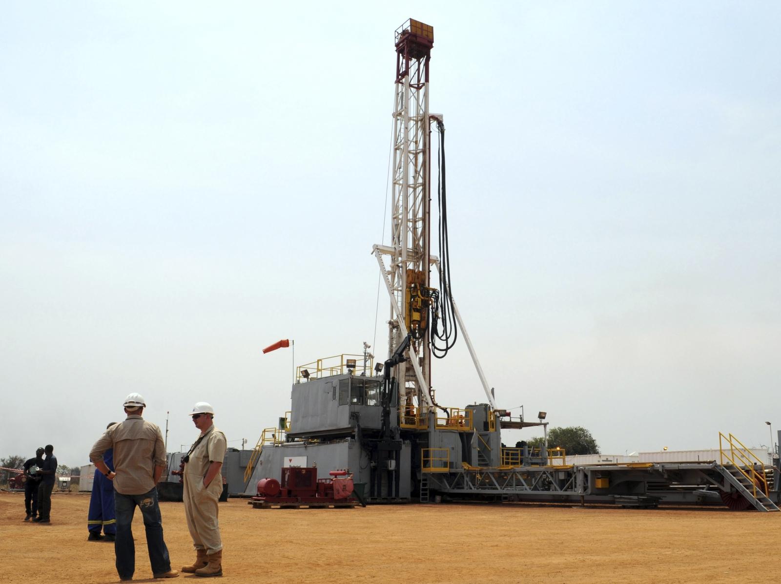 Tullow oil plant